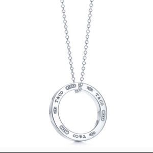 Tiffany 1837 Circle Pendant Necklace